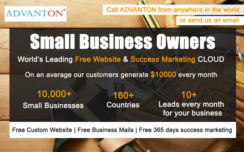 small business website design service