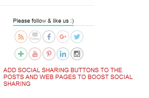 social share for seo