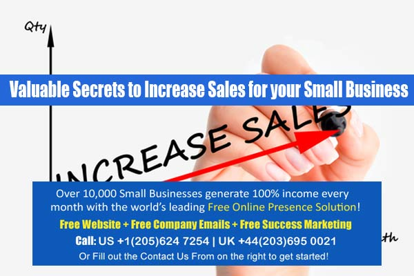 increase sales for small business
