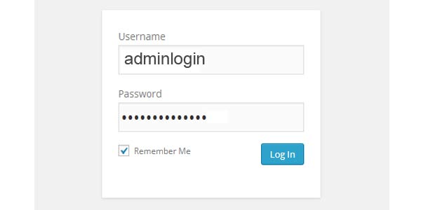 remember me wordpress login