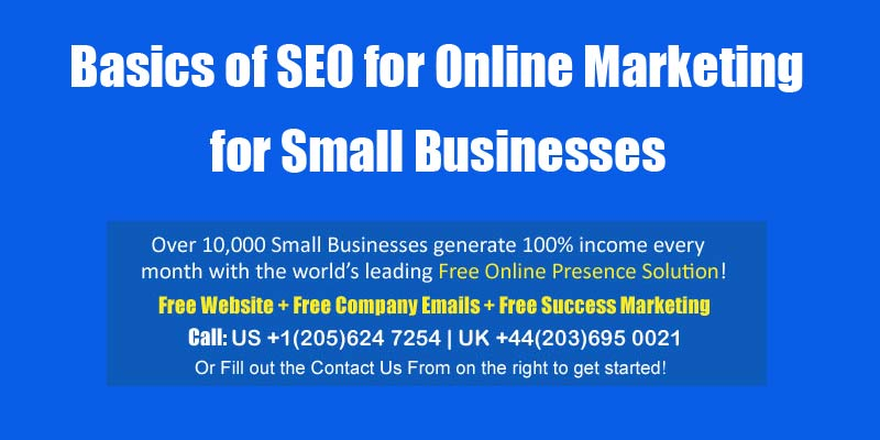 seo for online marketing