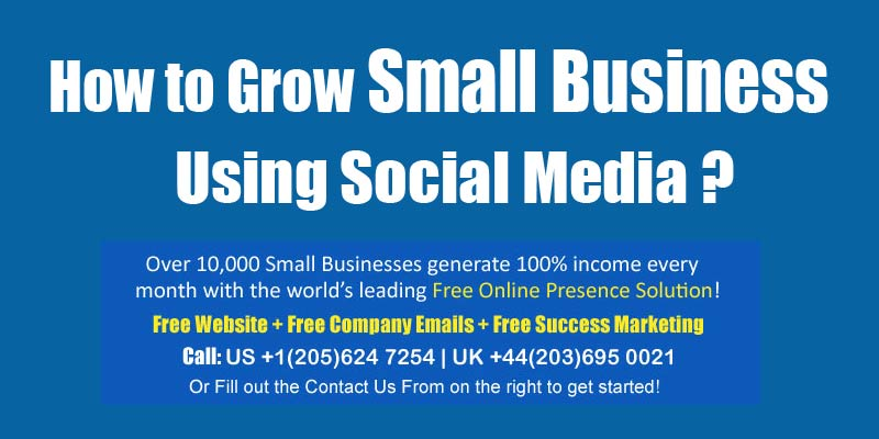 grow small business using social media