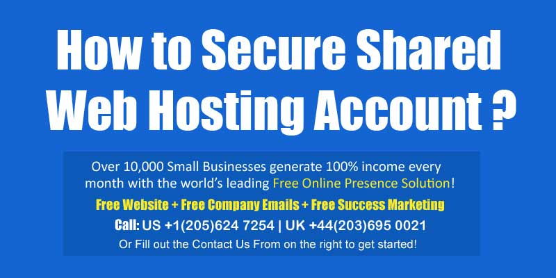 secure shared web hosting