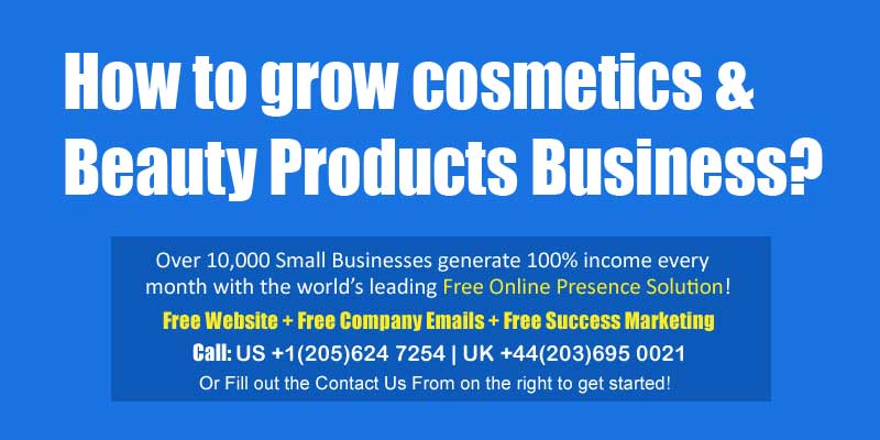 makeup beauty products business