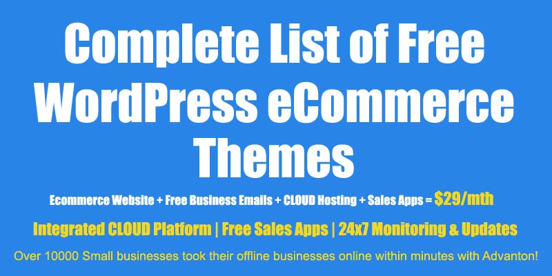 50 clean, beautiful, seo optimized and free wordpress shopping