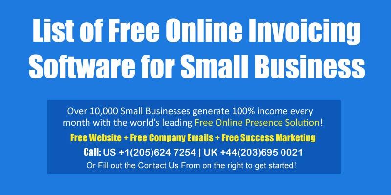 invoicing software small business
