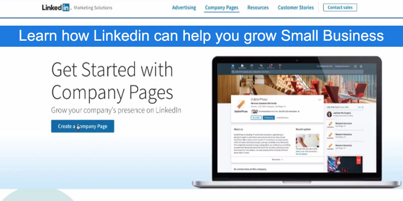 linkedin to grow career and small business
