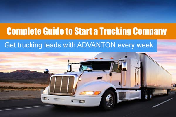 start a trucking company