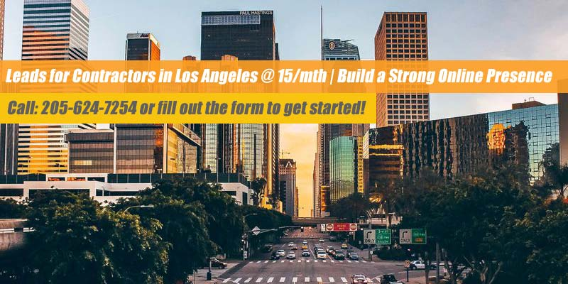 los angeles contractor leads