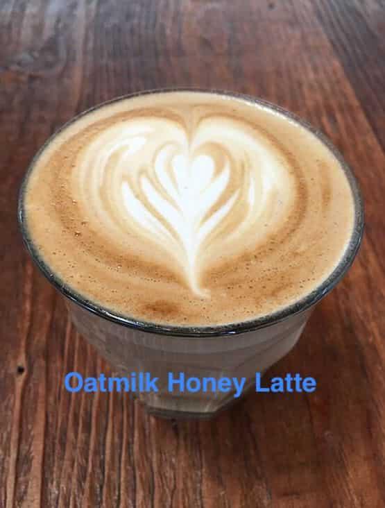 oatmilk honey latte