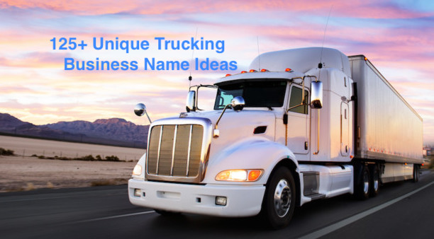 trucking business name ideas