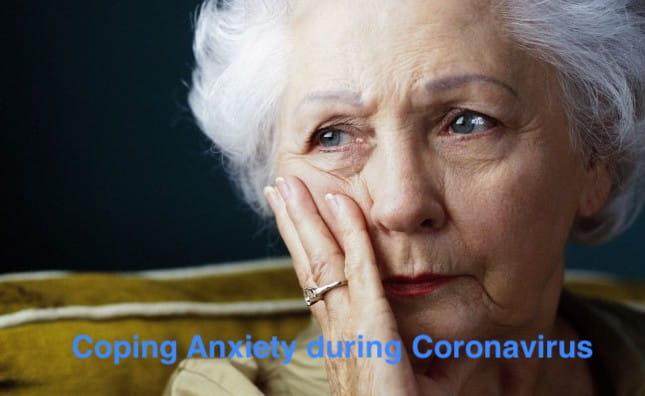 cope anxiety during coronavirus