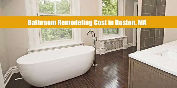 bathroom remodeling cost boston