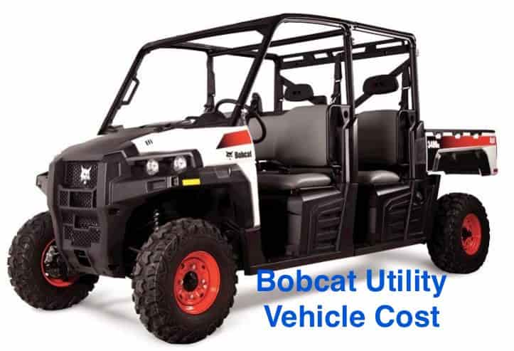 bobcat utility vehicle cost