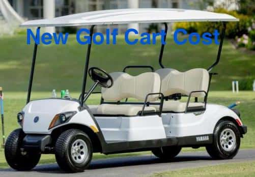 new golf cart cost