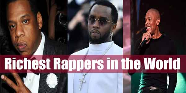 richest rappers in the world