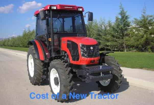 new tractor cost