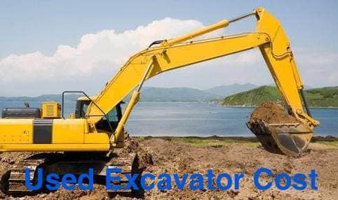 used excavator cost