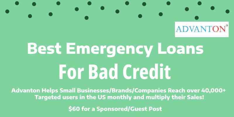 emergency loans bad credit
